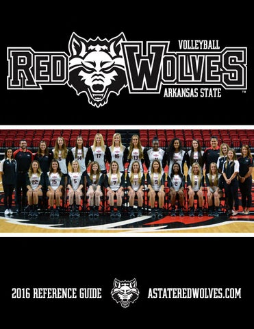 the latest 205a8 d42a3 2016 A-State Volleyball Reference Guide by Dennen Cuthbertson - issuu