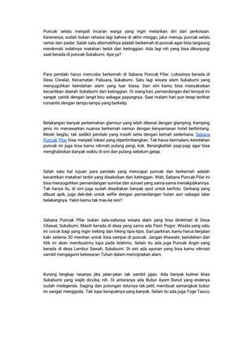 Wisata Di Sukabumi Terbaru Yang Sangat Indah By Wisata Di