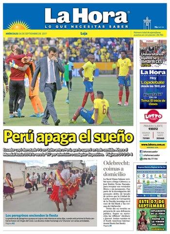 fd060773e Diario La Hora Loja 06 de Septiembre 2017 by Diario La Hora Ecuador ...