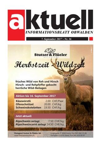 Aktuell Obwalden 36 2017 By Aktuell Obwalden Ag Issuu