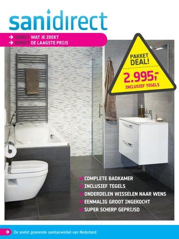 Sanidirect Huis aan huis folder week 36 2017 by Sanidirect - issuu
