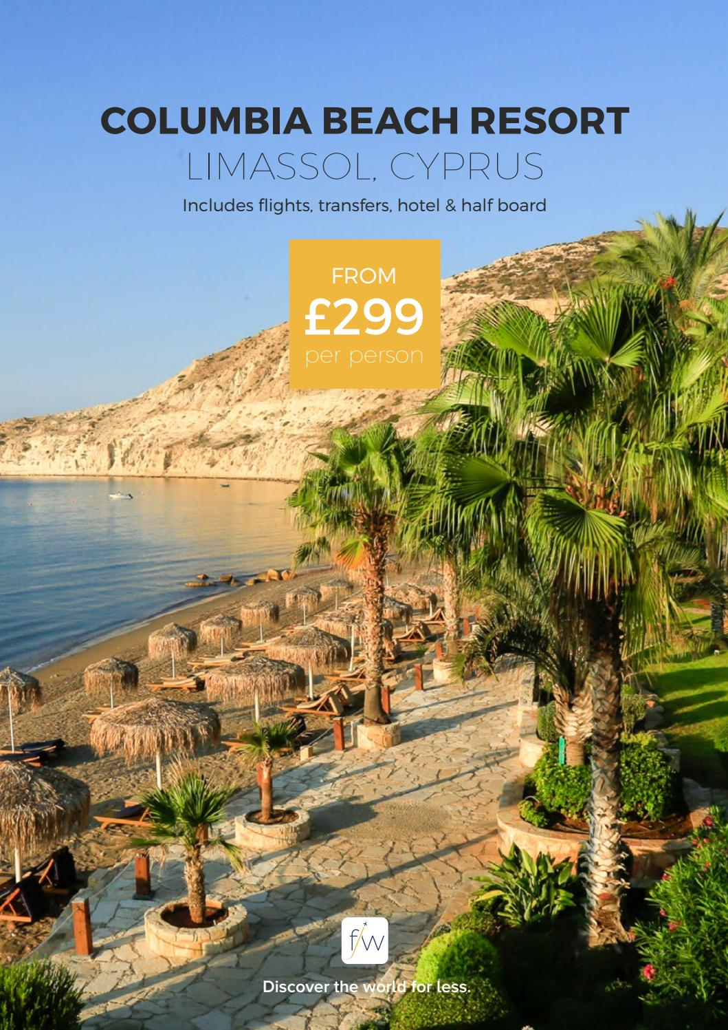 9500 Miramar Rd: Columbia Beach Resort, Limassol, Cyprus By Fleetway