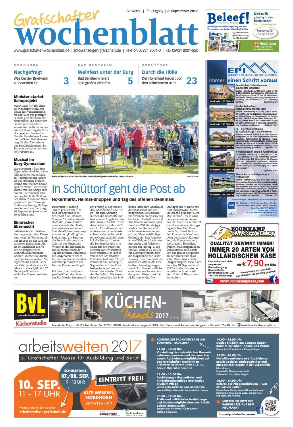 Grafschafter Wochenblatt 6. September 2017 by SonntagsZeitung - issuu