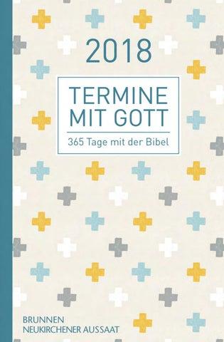 Leseprobe Termine Mit Gott 2018 Hc By Brunnen Verlag Gießen Issuu