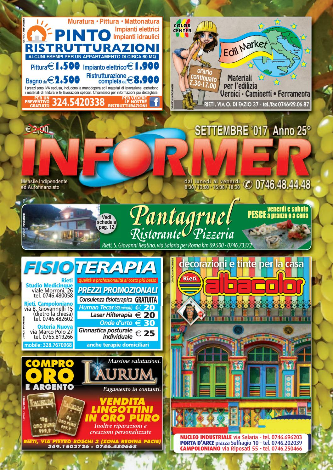 INFORMER settembre 2017 by informer - issuu 6b846000603a