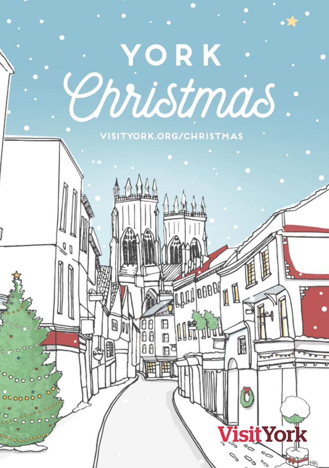 York Christmas Guide 2017 by Visit York - issuu