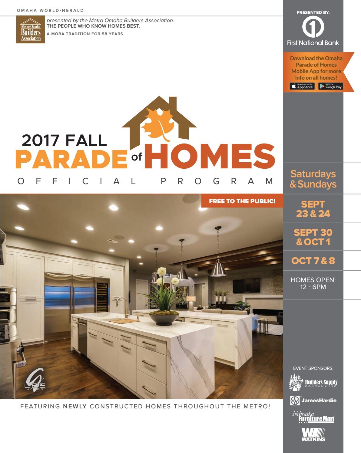 2017 fall parade of homes by omaha world herald issuu