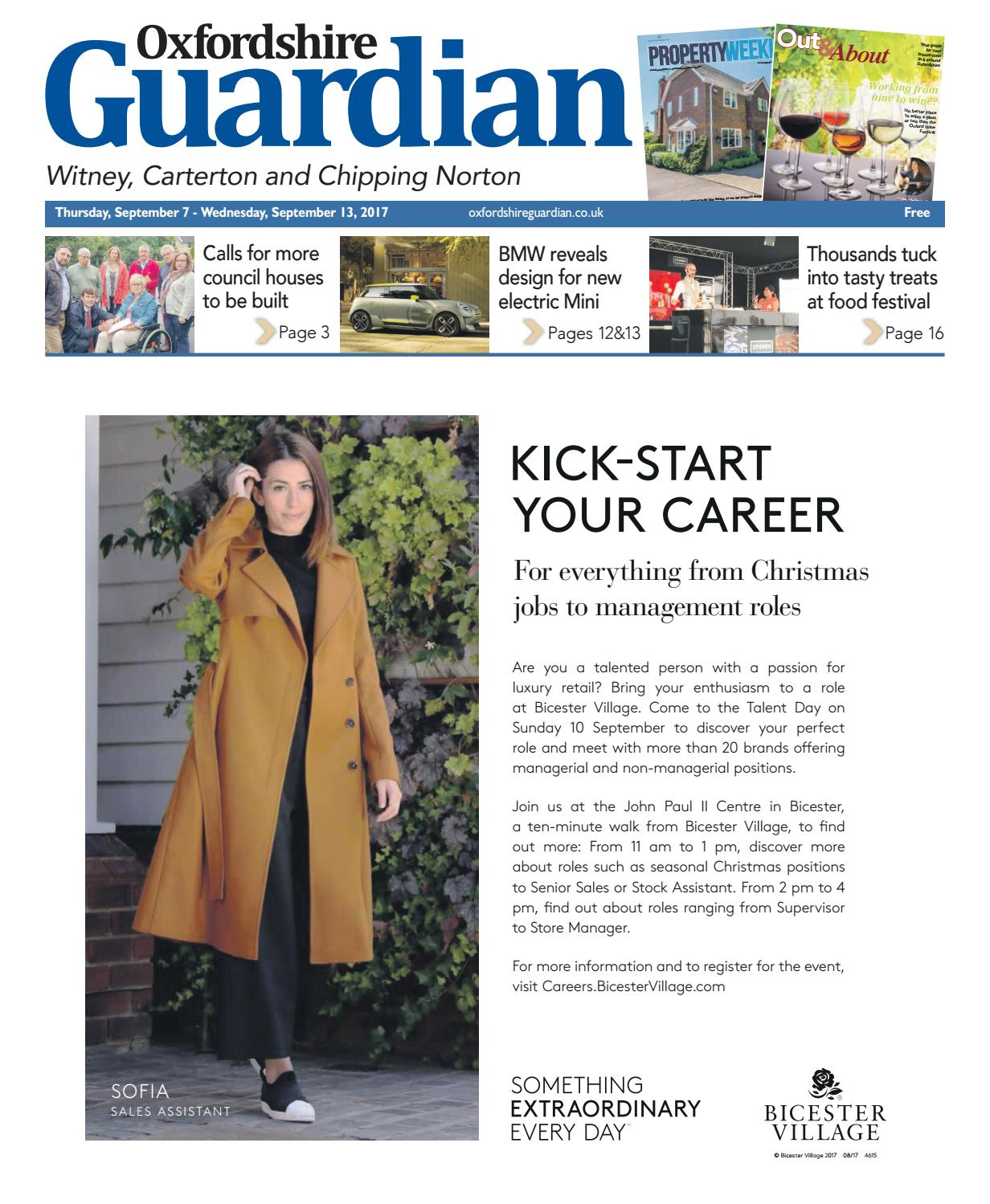 07 september 2017 oxfordshire guardian witney by Taylor Newspapers - issuu 8335e5832