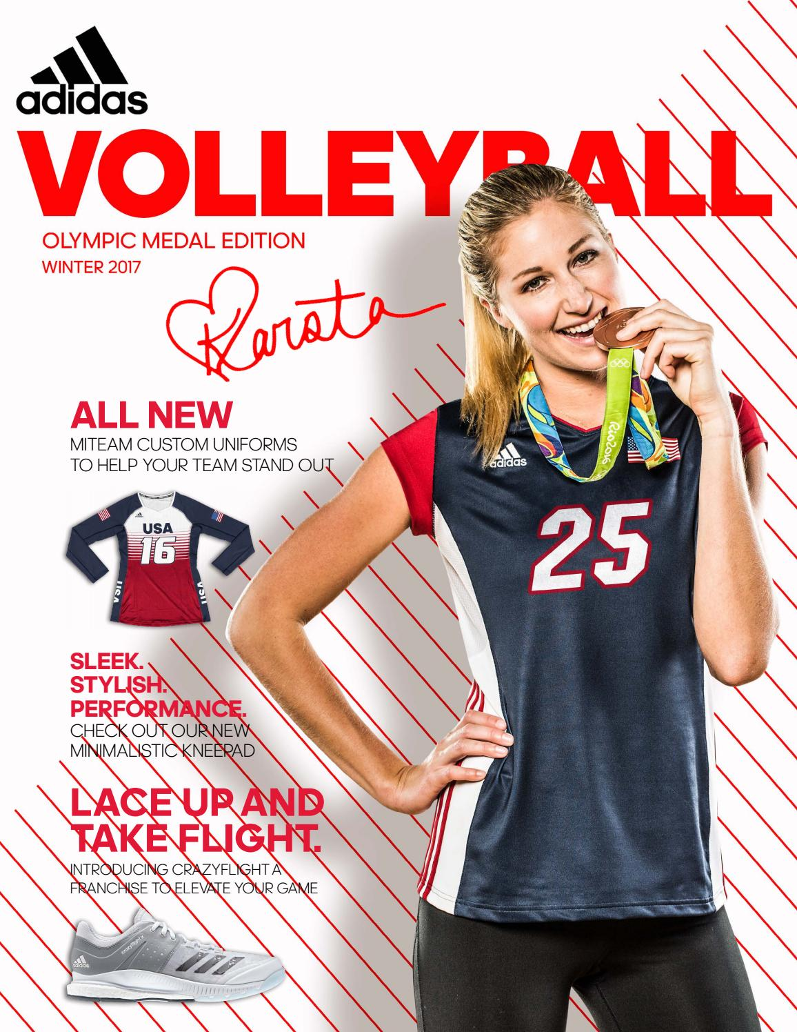65f1b4036c3755 Adidas Winter 2017 Volleyball Catalog by Team Connection - issuu