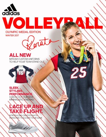 sale retailer da756 f1bcc Adidas Winter 2017 Volleyball Catalog by Team Connection - issuu
