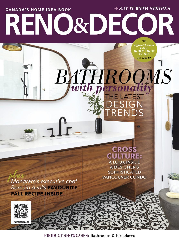 reno u0026 decor magazine oct nov 2017 by homes publishing group issuu