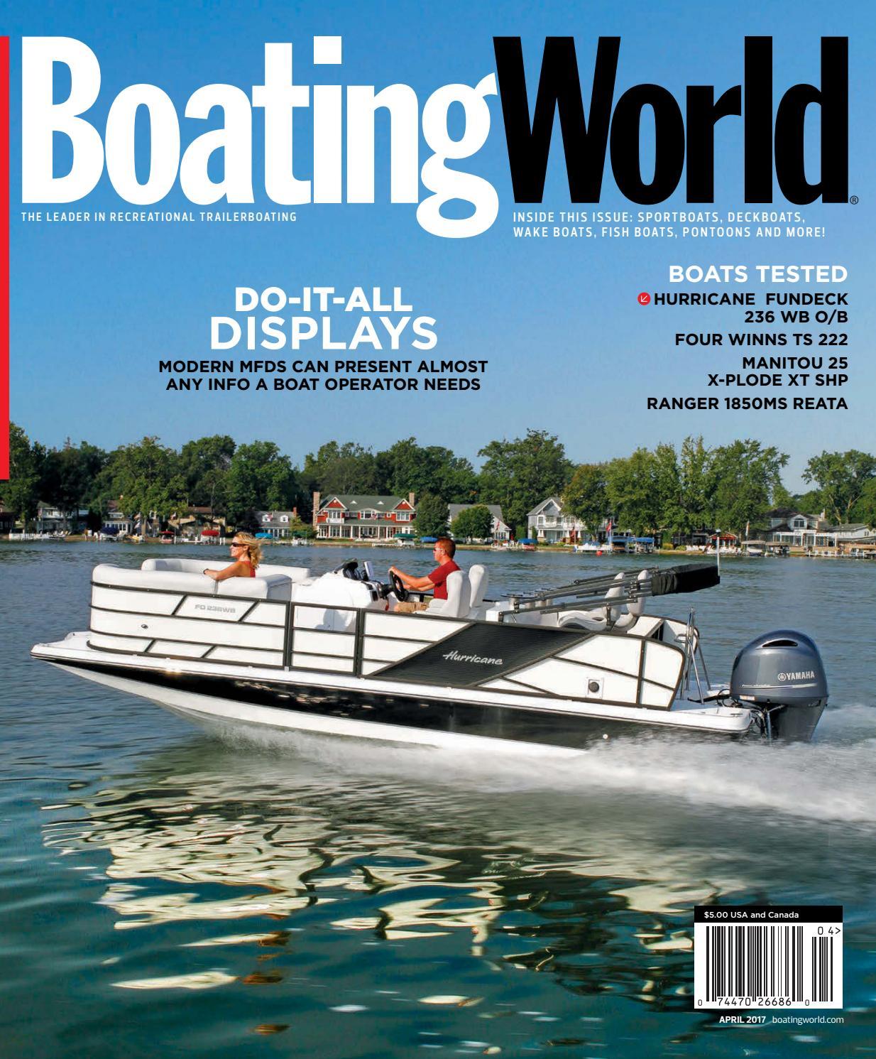 April 2017 – Boating World Magazine by Duncan McIntosh