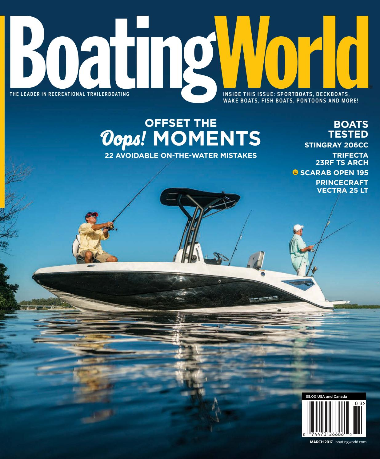 March 2017 – Boating World Magazine by Duncan McIntosh