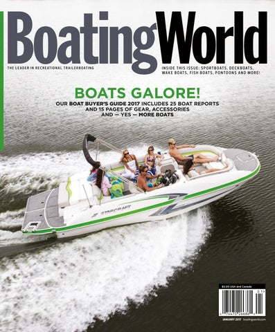 january 2017 boating world magazine by duncan mcintosh company issuu  boat switch wiring diagram fountain 31 te #39