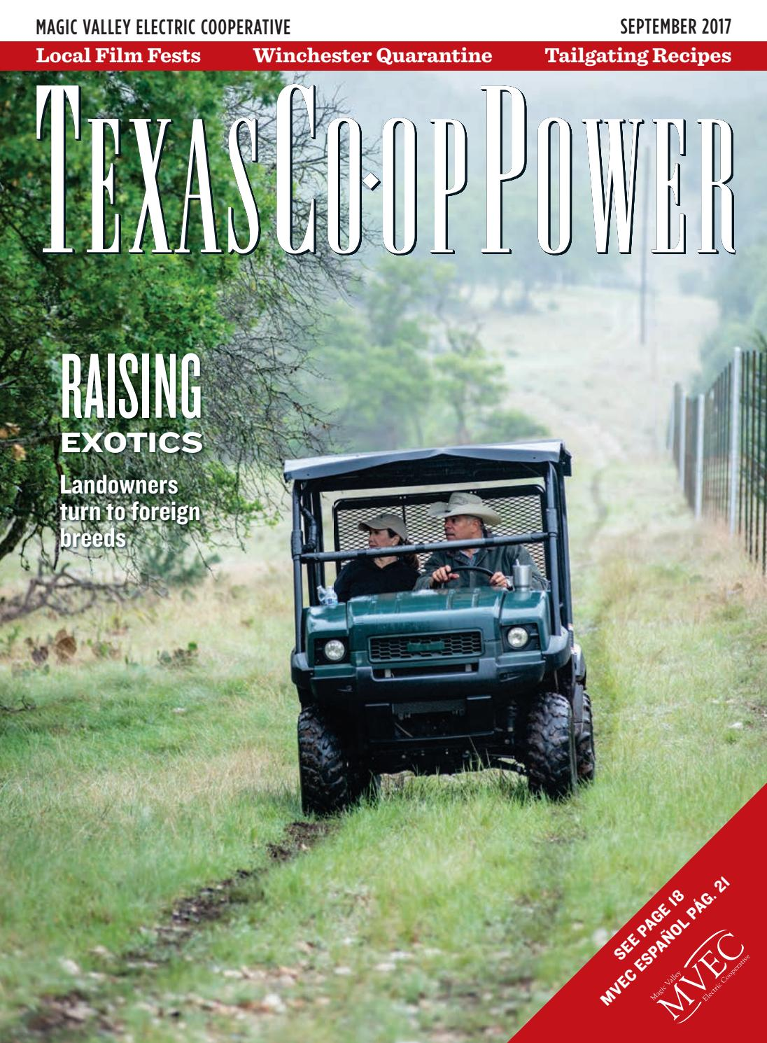 Texas Co-op Power September issue by CODESM - issuu