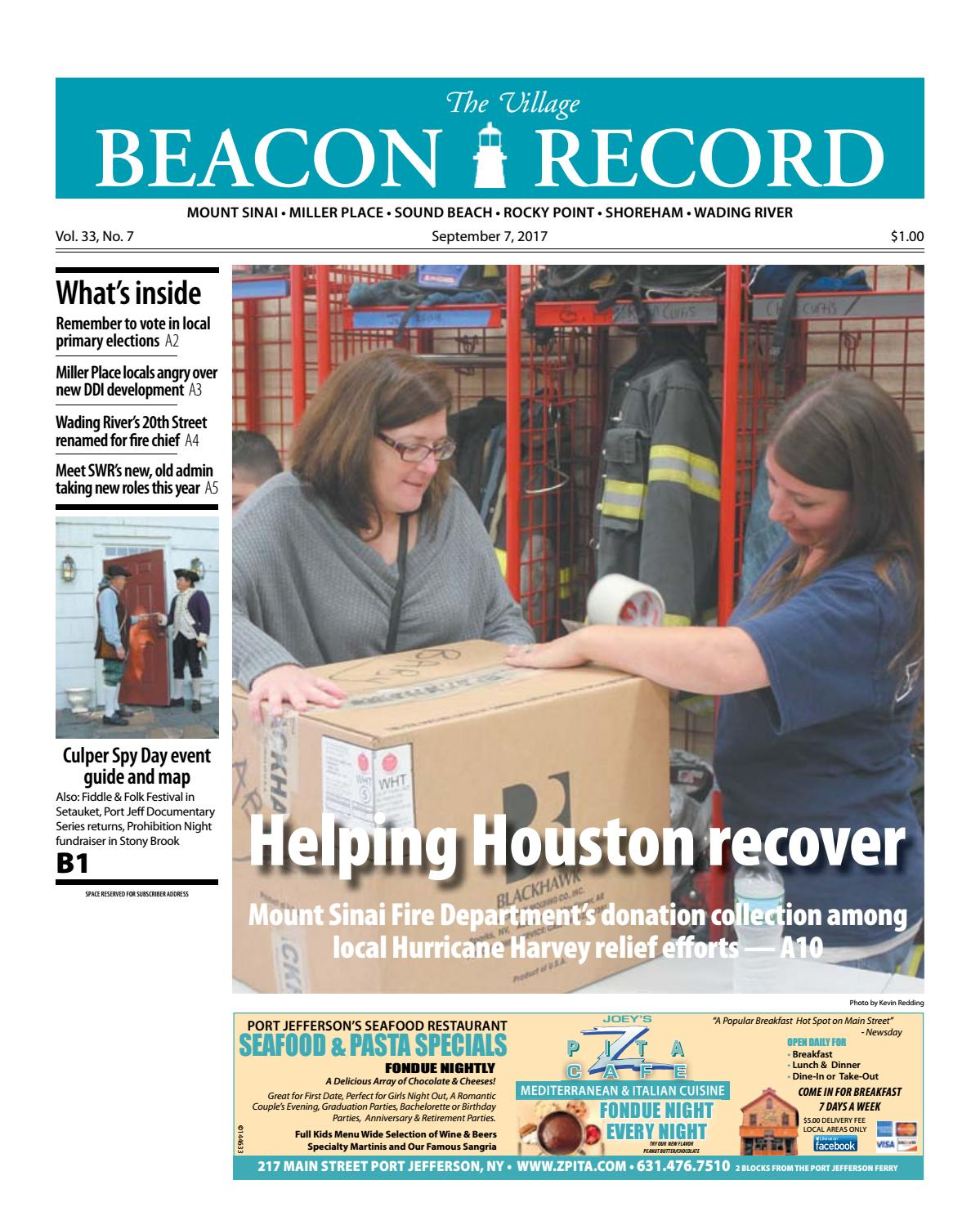 The Village Beacon Record - September 7, 2017 by TBR News Media - issuu