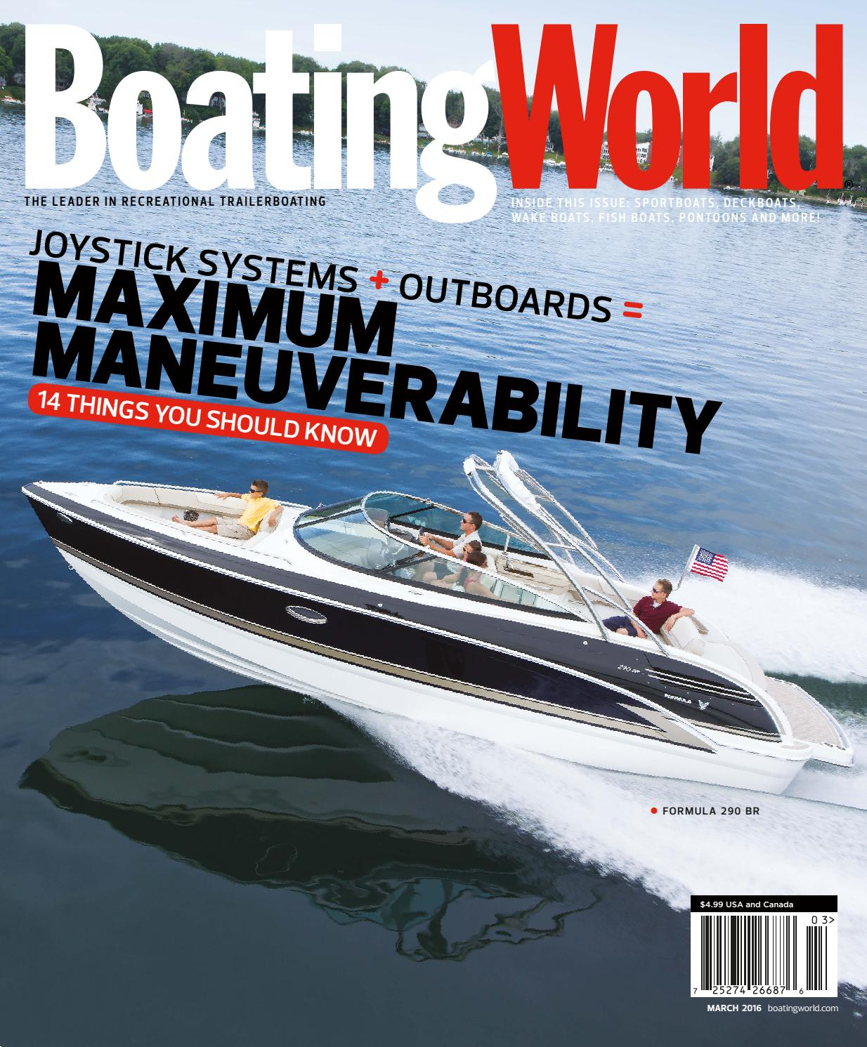 March 2016 – Boating World Magazine by Duncan McIntosh Company - issuu