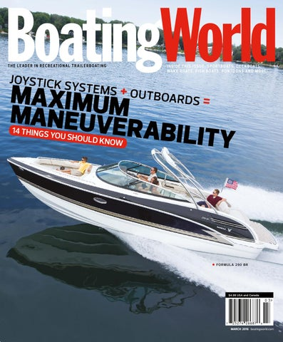 March 2016 – Boating World Magazine by Duncan McIntosh Company - on