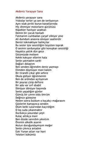 Siir Kitabi Can Yucel By Seymur Huseynov Issuu
