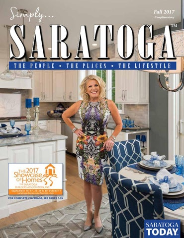 244fc314fc6 Simply SARATOGA - Showcase of Homes Fall Edition 2017 by Saratoga ...