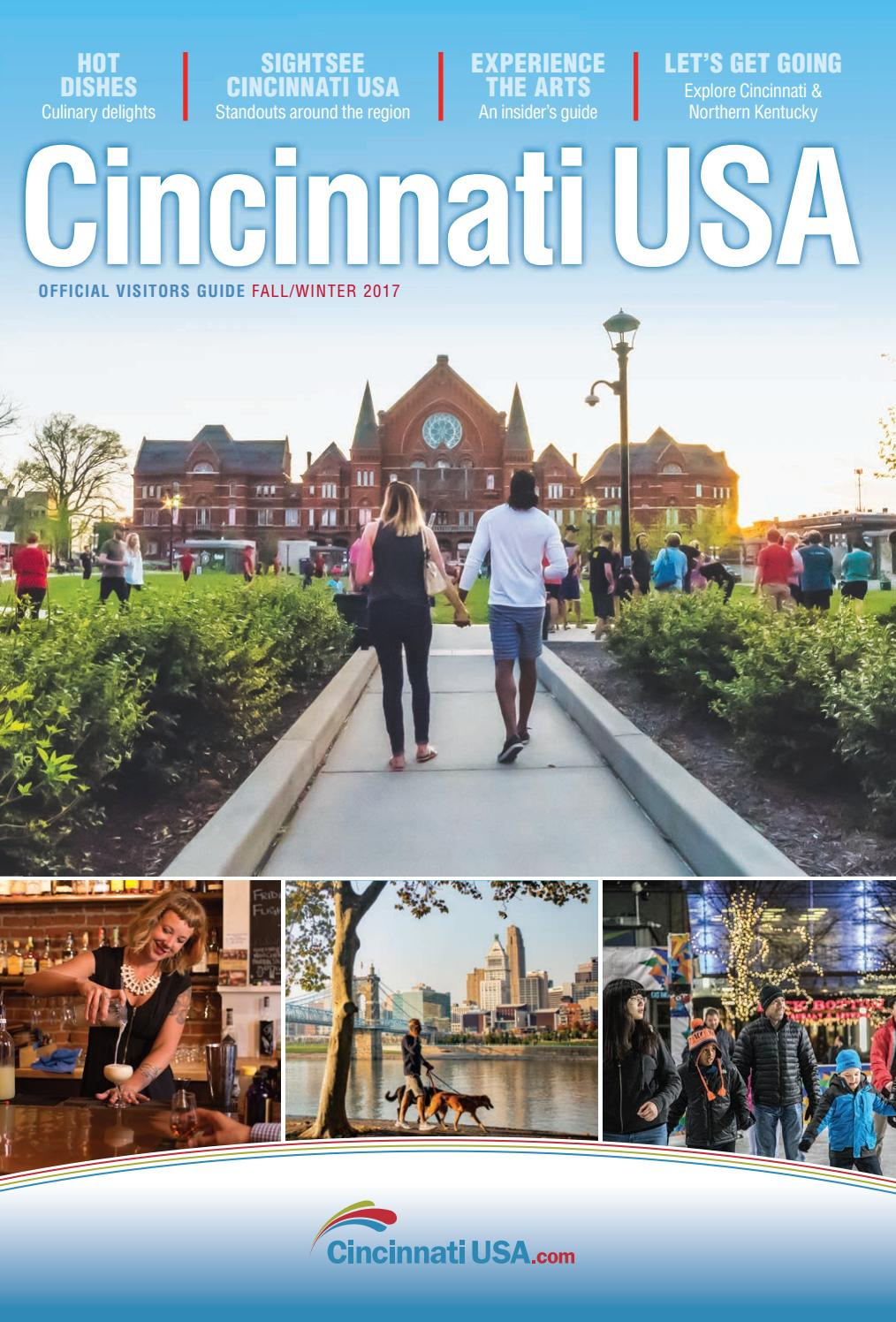 official visitors guide fall winter 2017 cincinnati usa by