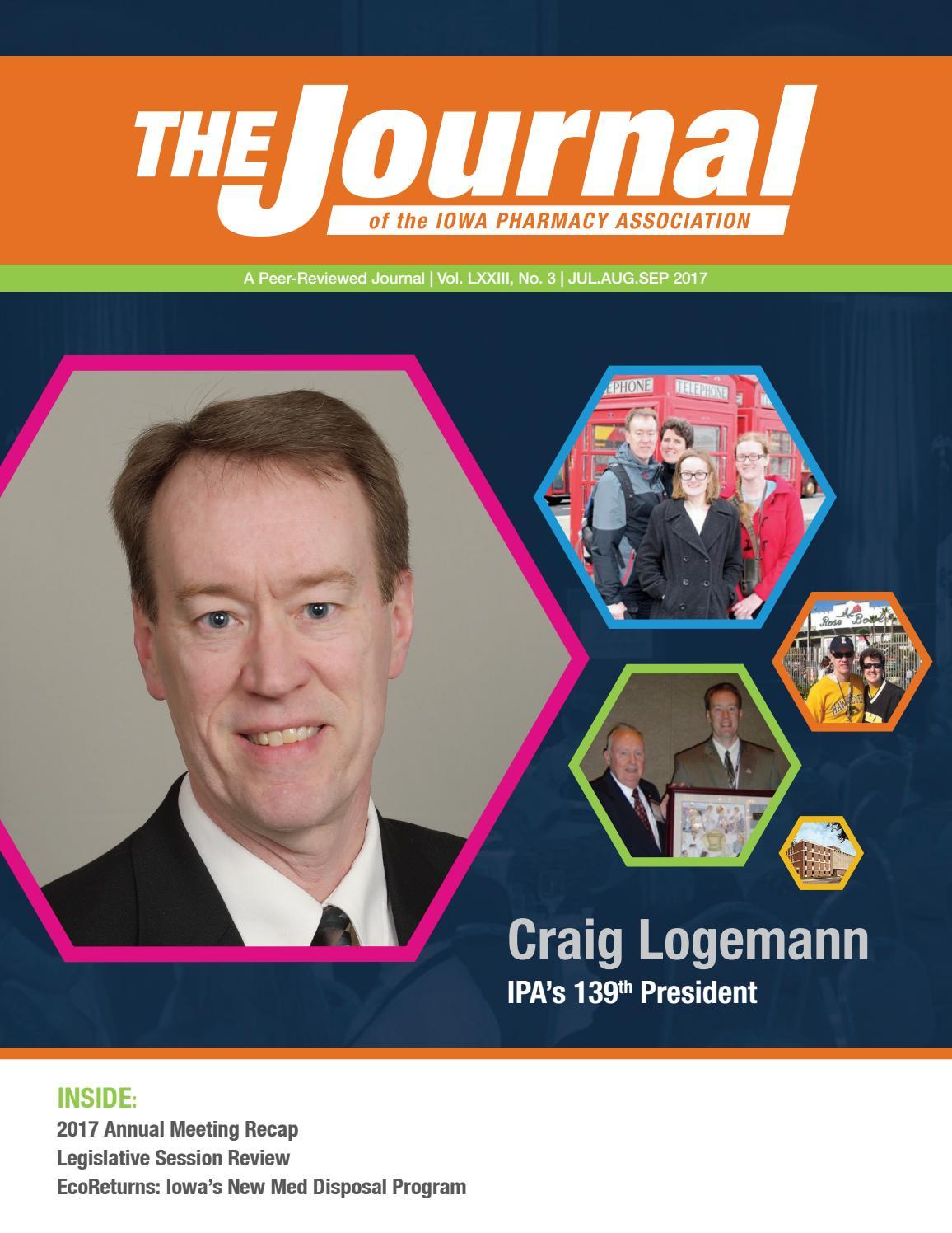 IPA Journal - July/Aug/Sept 2017 by Iowa Pharmacy