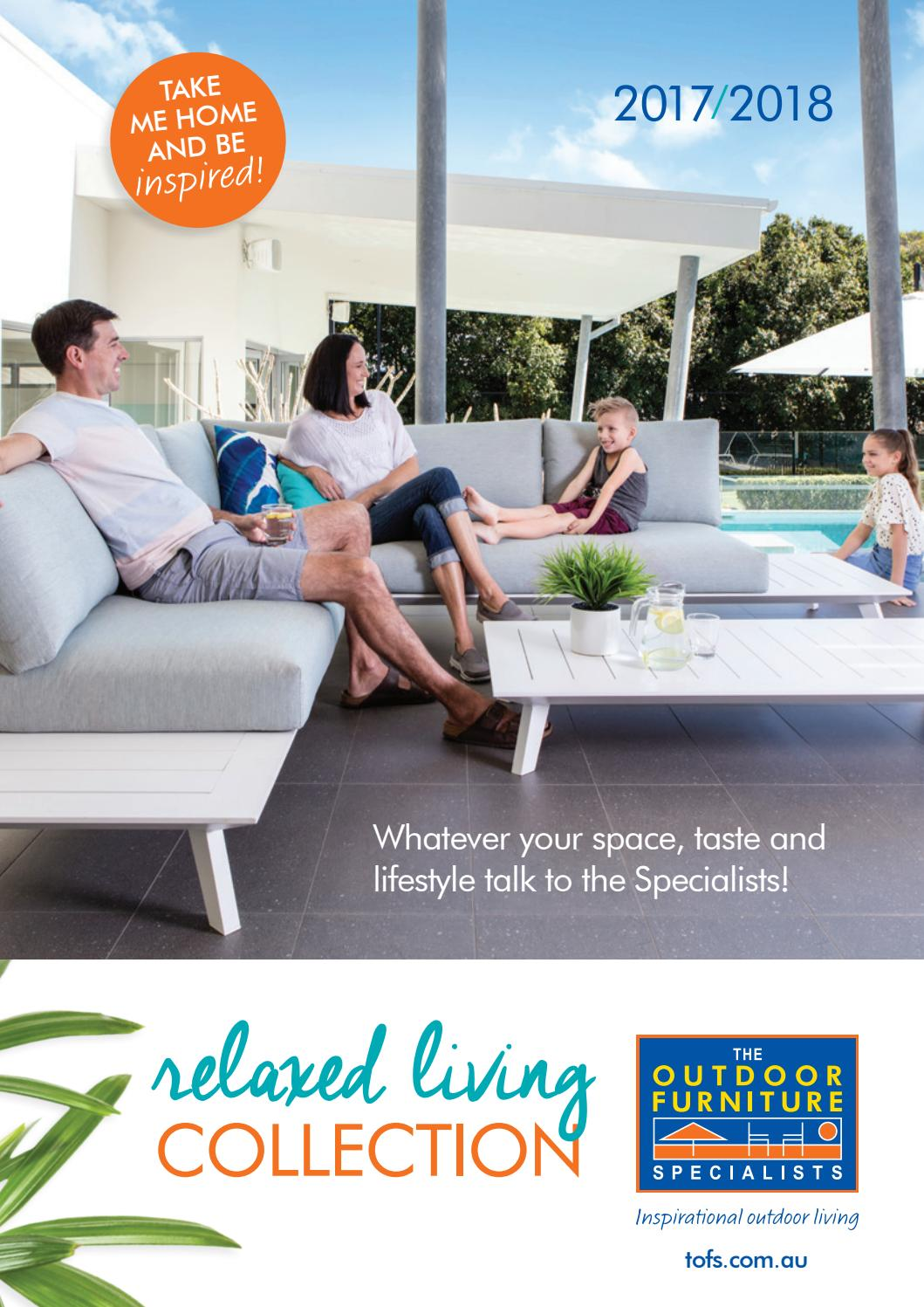 The outdoor furniture specialists relaxed living collection 2017 2018 by tofs the outdoor furniture specialists issuu