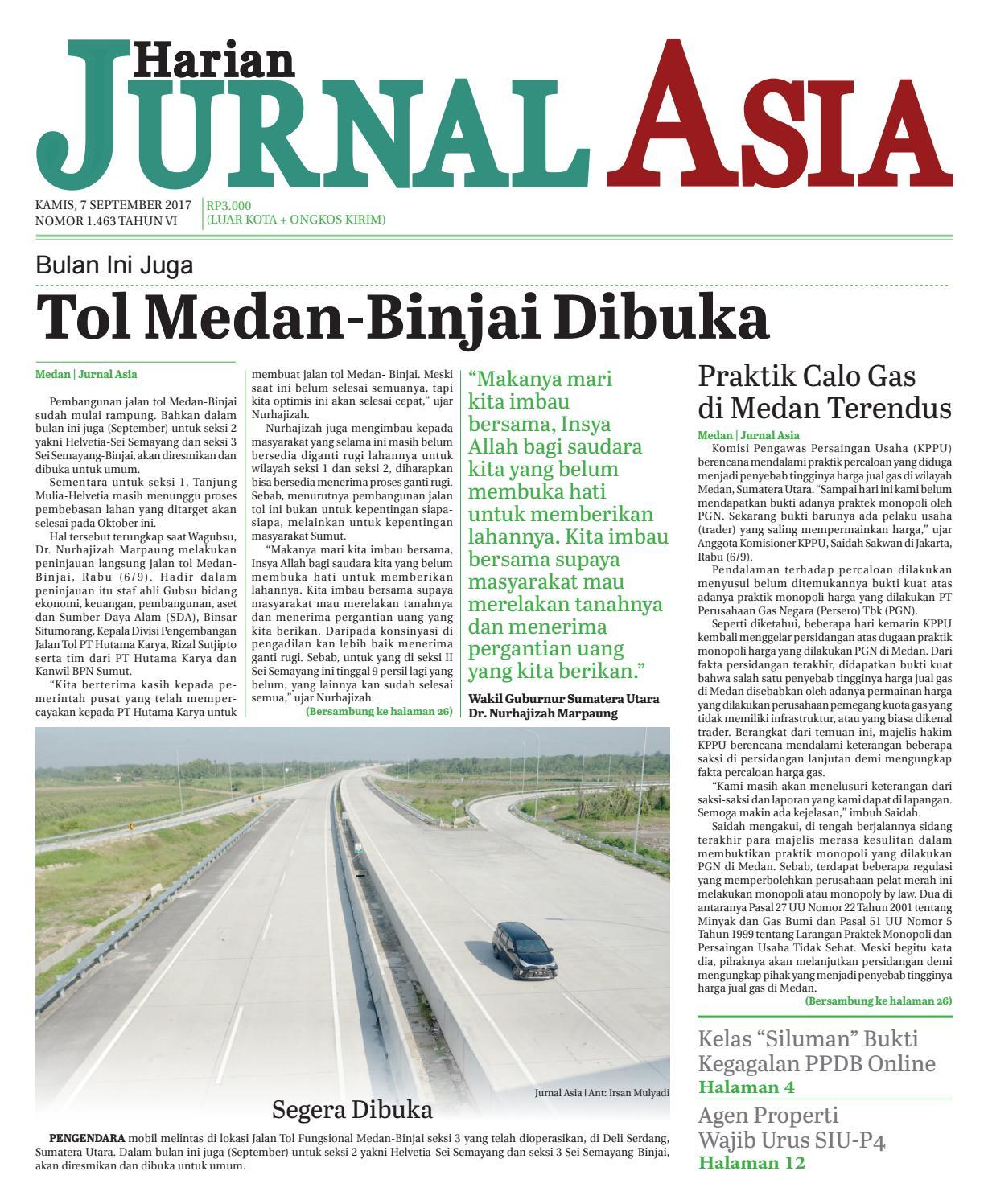 Harian Jurnal Asia Edisi Kamis 2f92d3102f