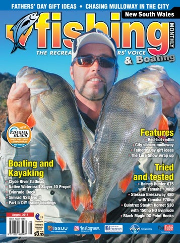 a27dfc6ba2 NSW Fishing Monthly August 2017 by Fishing Monthly - issuu