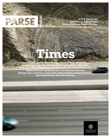 Parse Journal Issue 4 By Anders Wennerström Issuu
