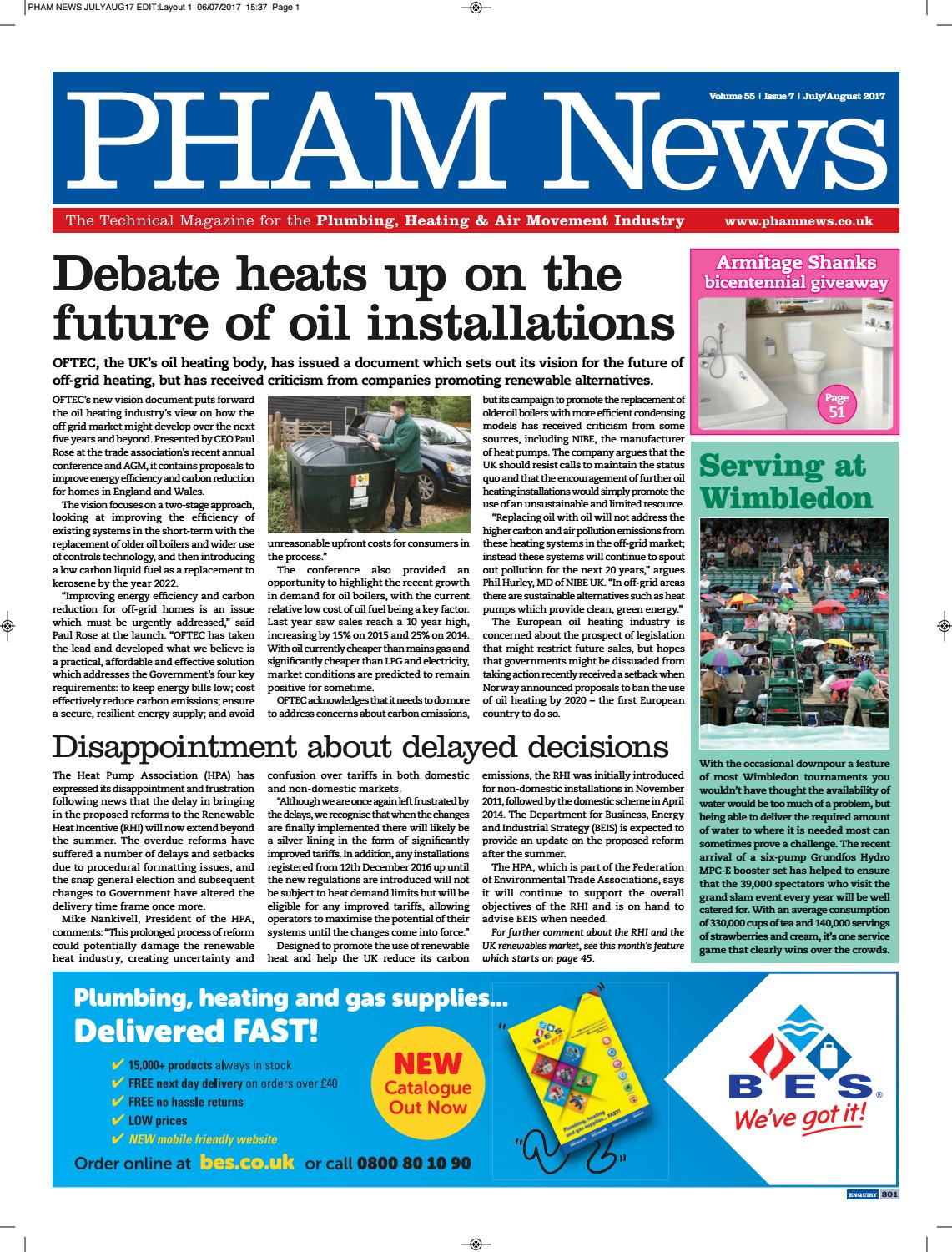 July August 2017 By Pham News Issuu Heatmaster Outdoor Furnace Wiring Diagram