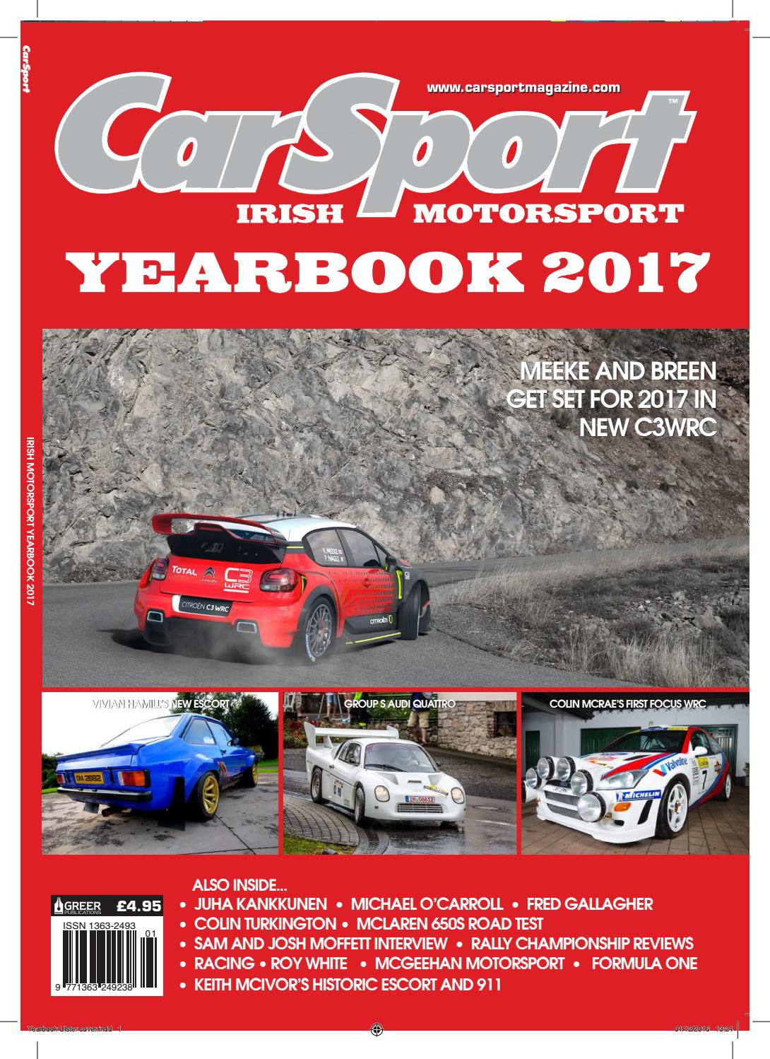 Carsport: 2016 by Greer publications - issuu