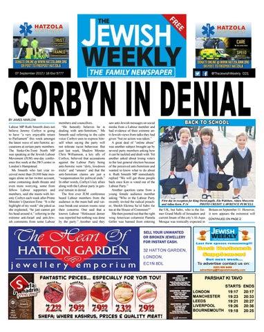 The Jewish Weekly 019 by The Jewish Weekly issuu