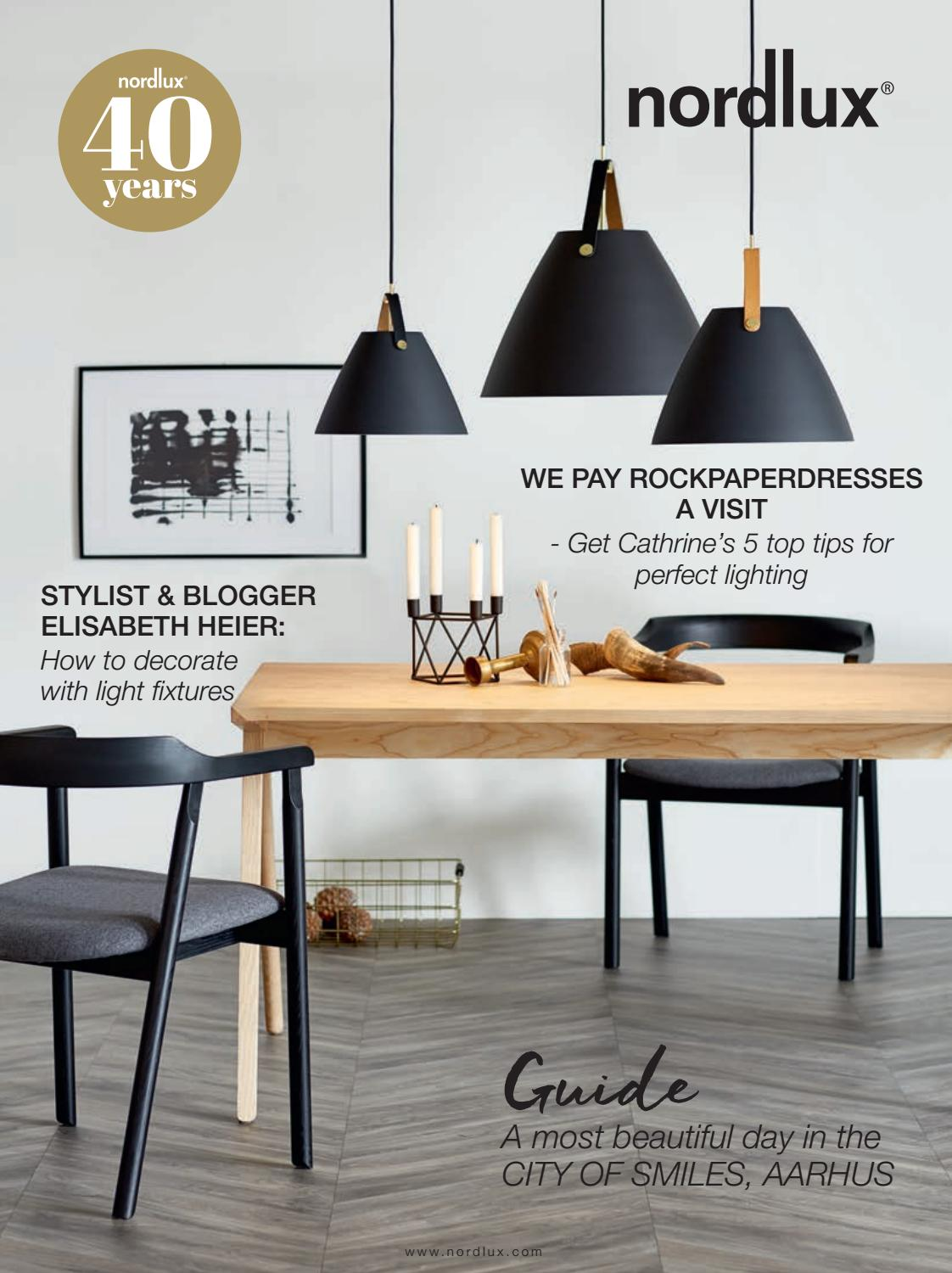 Nordlux Design For The People 40 Years Magazine 2017 2018 En By Oy Noortrade Ab Issuu