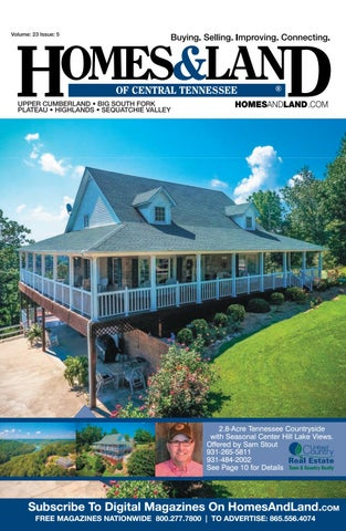 Homes & Land of Central Tennessee Vol 23 Issue 5 by Homes ... on
