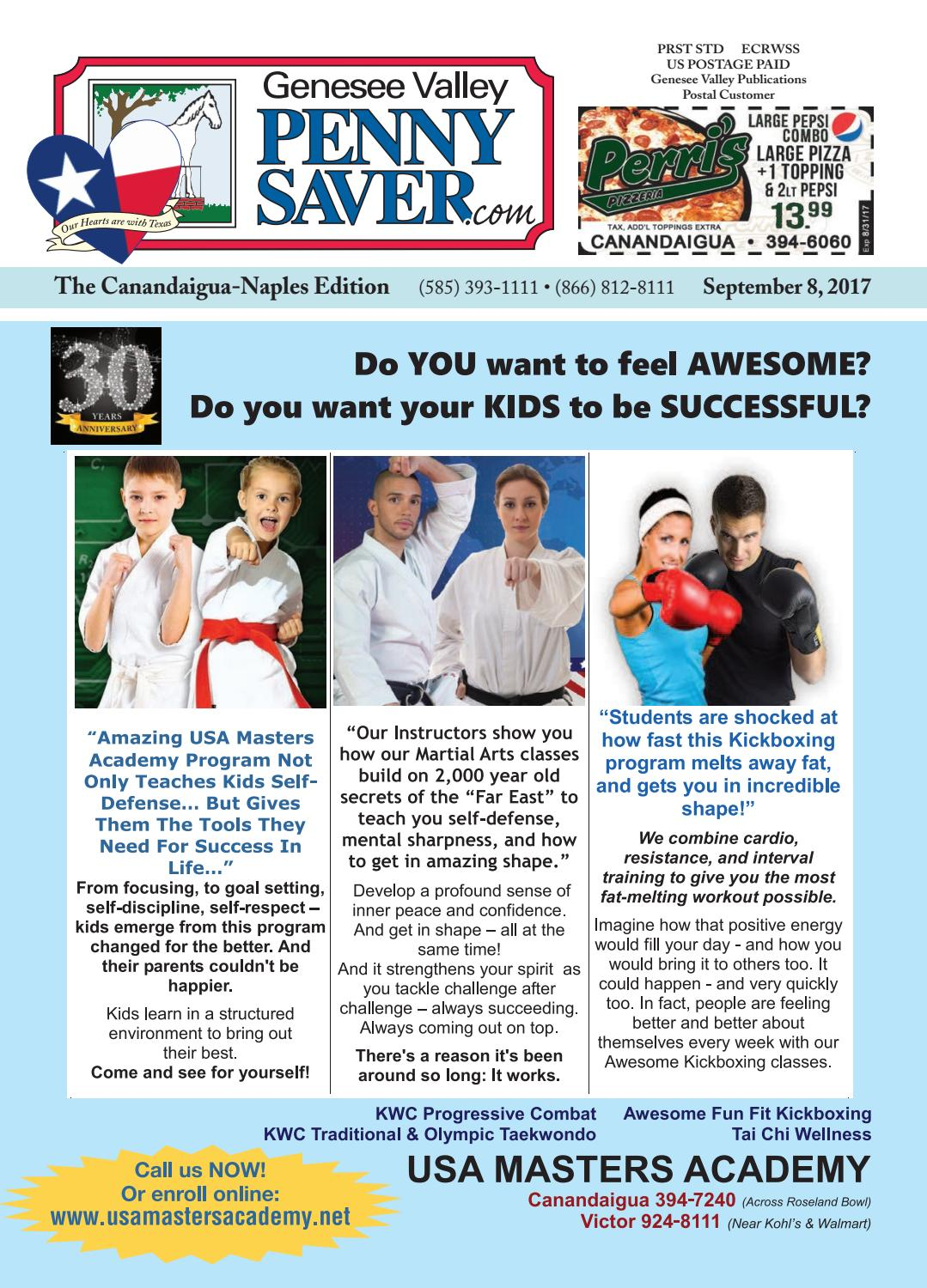 f66ce661c The Genesee Valley Penny Saver Canandaigua-Naples Edition 9/8/17 by Genesee  Valley Publications - issuu