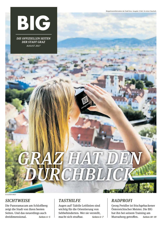 Big August 2017 By Stadtgraz Issuu