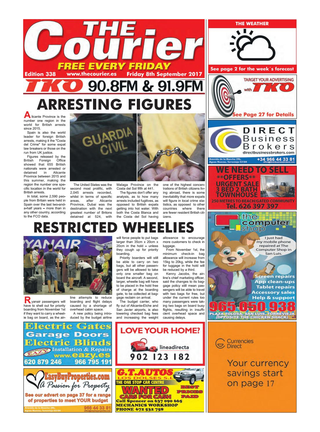 The Courier Edition 338 By The Courier Newspaper Issuu