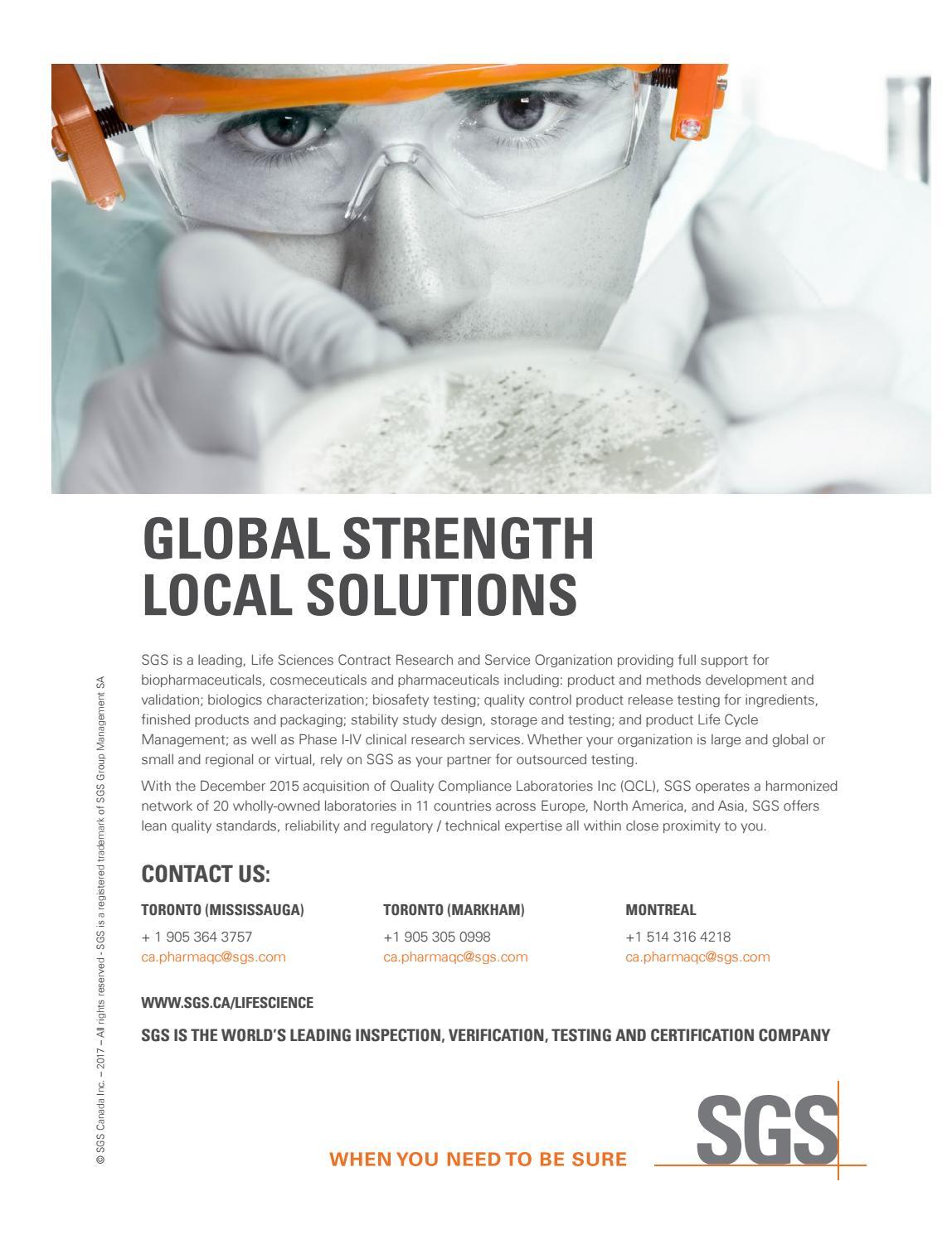 BioTech Canada's Insights Fall 2017 by Gordongroup - issuu