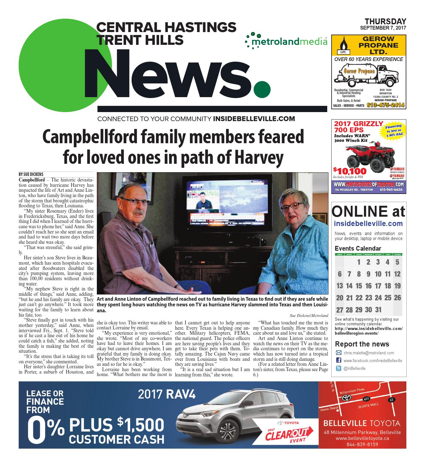 Chth090717 by Metroland East - Central Hastings News - issuu