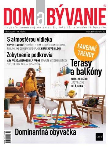 83d4f35b6 Dab 17 02 web by Dom a Bývanie - issuu