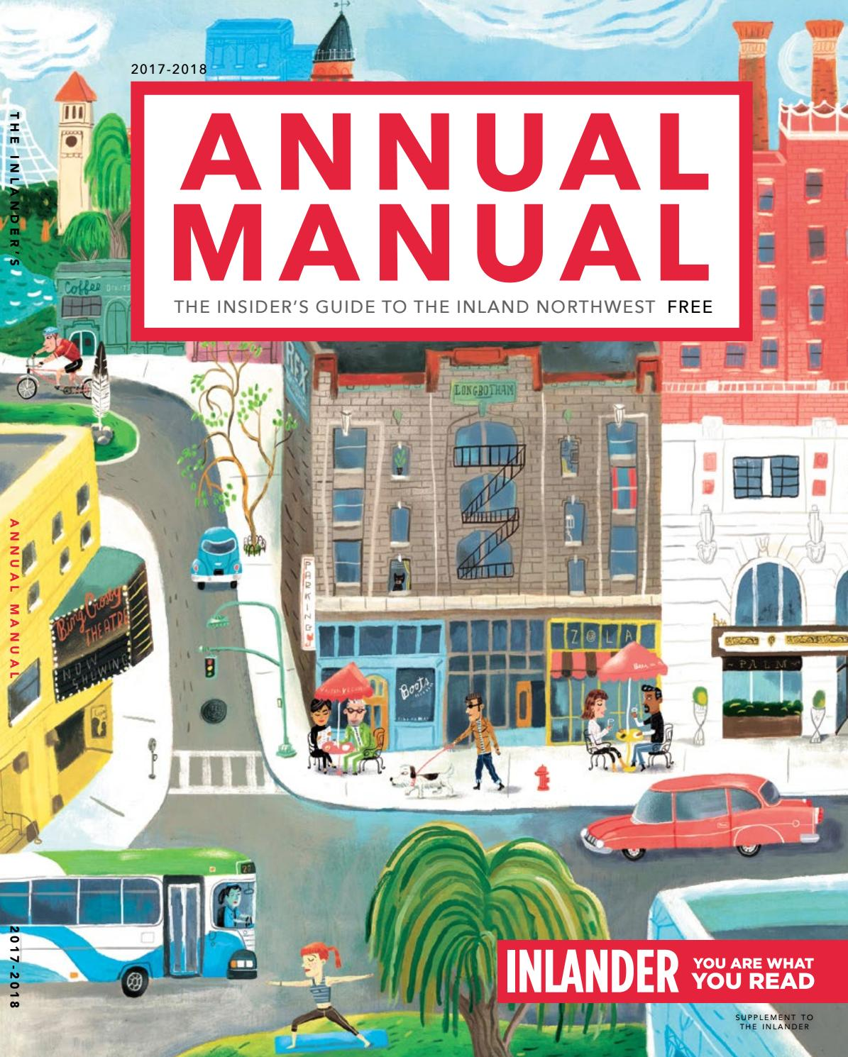Annual Manual 2017 18 By The Inlander Issuu Recycled Computer Circuit Board Geekery Bookends For Bookworm