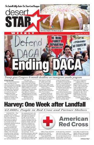 Desert Star Weekly September 6 2017 Issue By The Desert Star Weekly