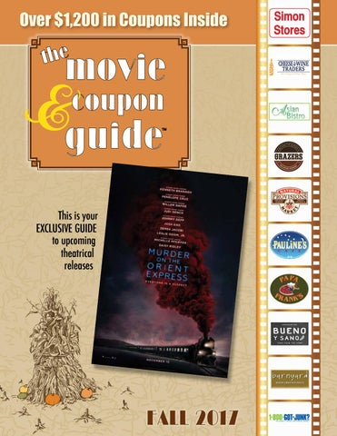 The movie coupon guide fall 2017 by macworks issuu over 1200 in coupons inside fandeluxe Image collections