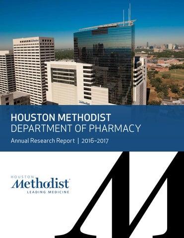Houston Methodist - Department of Pharmacy 2016-2017 by