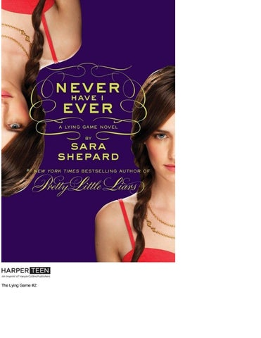 b1b2ceebb 2 never have i ever the lying game book 2 by sara shepard by Dolce ...