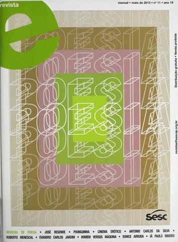 Revista E   Outubro De 2012   ANO 19   Nº 4 By Sesc Em São Paulo   Issuu