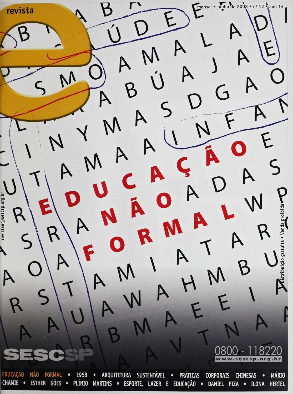 Revista E - Junho de 2008 - ANO 14 - Nº 12 by Sesc em São Paulo - issuu 8b40faf1aadf8
