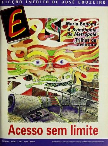 c8acab78754 Revista E - Março de 1997 - ANO 3 - Nº 9 by Sesc em São Paulo - issuu