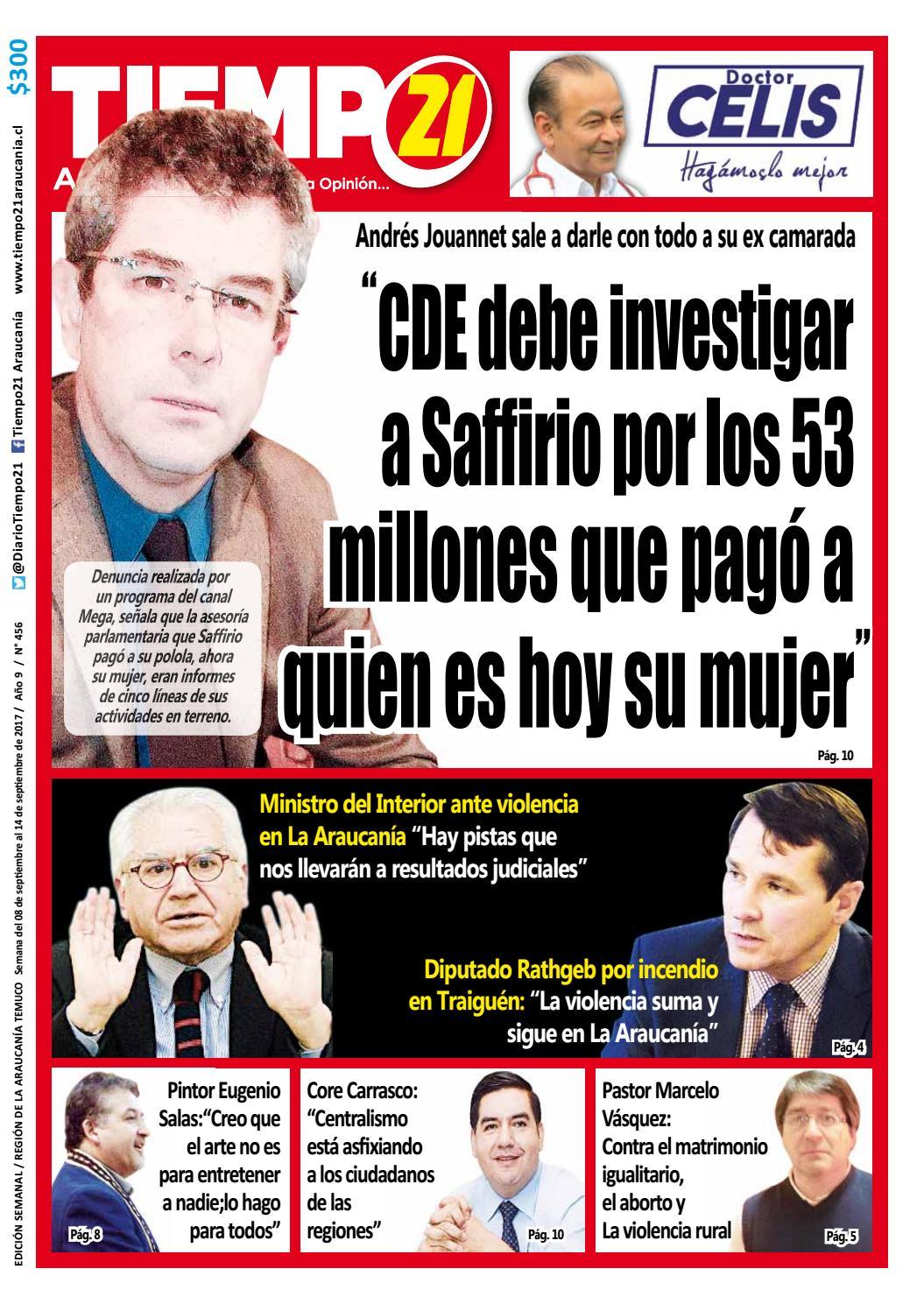 Edici N 456 Andr S Jouannet En Picada Contra Saffirio Por Los 53  # Muebles Jouannet Temuco